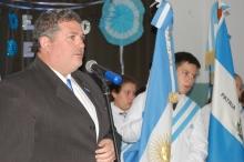 """Acto oficial por el día de la Escarapela en la Escuela """"Juan Bautista Alberdi"""""""