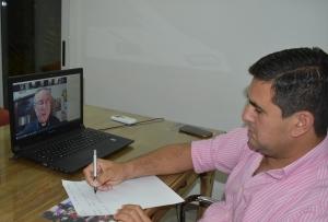 Irigoyen participó vía zoom del X Encuentro de Reflexión y Espiritualidad con políticos