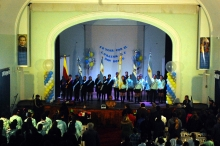 El Municipio acompañó la reinauguración del SUM del Colegio Salesiano