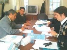 Lalo Domínguez firmó con Nación por la construcción de un CIC para Cazadores Correntinos