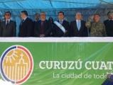 Con emotividad y fervor patriótico Curuzú celebró sus 208 años de vida
