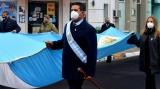 Curuzú conmemoró el Día de la Bandera y honró a su creador Manuel Belgrano