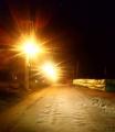 La Municipalidad iluminó el acceso al Barrio Victoria