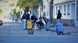 Comenzaron las obras de repavimentación en calle Castillo