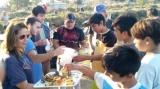 Jornada deportiva y recreativa en el Barrio Las Flores