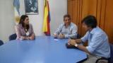 Domínguez recibió al Coordinador del Plan Belgrano