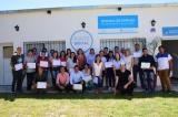 Entrega de certificados de capacitación en Oficina de Empleo