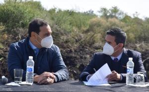 El gobernador Valdés visitó Curuzú, inauguró obras y brindó un fuerte respaldo al intendente Irigoyen