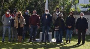 José Irigoyen inauguró el segundo ciclo de Curuzú Respira Arte