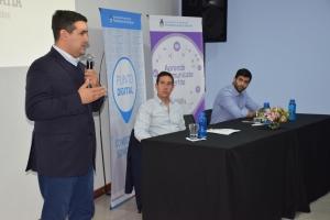 Destacando la buena relación con Nación, el intendente José Irigoyen inauguró el Punto Digital Curuzú Cuatiá