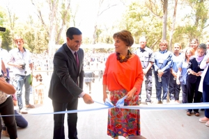 Con profunda emoción y gratitud curuzucuateña, se inauguró el Centro Oncológico Anna Rocca de Bonatti