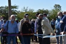Irigoyen inauguró una nueva perforación que beneficiará a más de 40 familias de zonas rurales