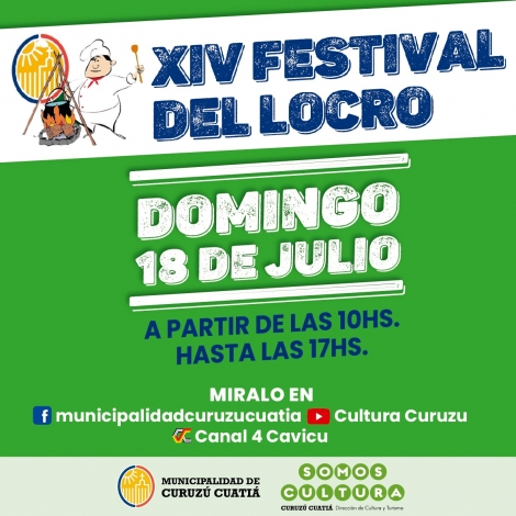 XIV FESTIVAL DEL LOCRO DE LA CIUDAD DE CURUZÚ CUATIÁ
