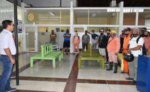 El intendente Irigoyen entregó nueva indumentaria a recolectores de residuos