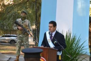 """Irigoyen llamó a """"independizarnos de las cadenas del pasado, del odio y del resentimiento, es momento de paz"""""""