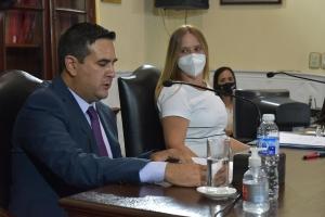 Apertura de sesiones del HCD: Discurso del intendente Irigoyen