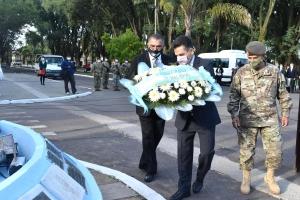 Curuzú rindió homenaje a los héroes de Malvinas