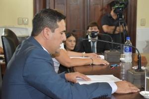 Irigoyen dejó formalmente inaugurado el período de sesiones ordinarias del Concejo Deliberante para el 2021