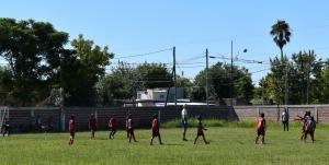Cierre de los encuentros de fútbol infantil
