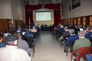 Más de 80 vecinos y representantes de instituciones participaron de la Consulta Pública por la nueva terminal