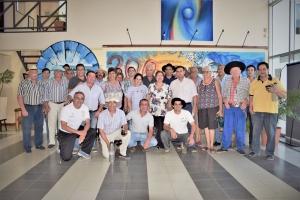 Reunión con agrupaciones tradicionalistas