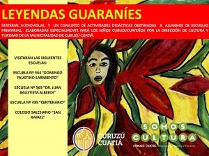 Cultura fortalece el acervo guaraní con talleres en escuelas