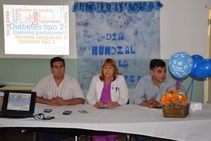 El Municipio participó del lanzamiento de la semana mundial de la diabetes