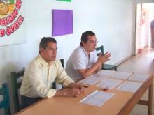 El Intendente Municipal Prof.  Domínguez, entregó módulos para celíacos