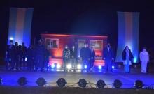 Con una vigilia el Municipio de Curuzú Cuatiá conmemoró los 208 años del Himno Nacional Argentino