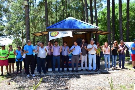 El intendente Irigoyen dejó inaugurada la temporada 19/20 del Parque Acuático
