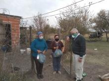 Parajes curuzucuateños recibieron módulos alimentarios