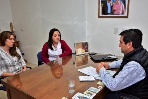 El Intendente José Irigoyen recibió a Docente Especial Ilustre
