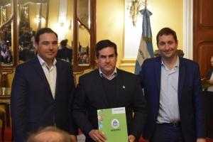 Nación firmó convenio con Provincia para las obras de la nueva terminal de ómnibus