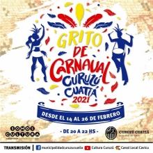 """Se viene """"Grito de Carnaval"""""""