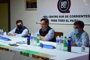 Irigoyen y Morandini presentes en la conferencia de prensa sobre la 98° Expo Rural