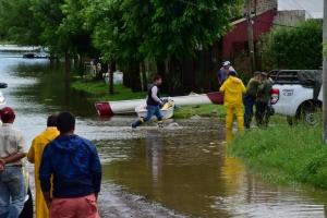 El Municipio asistió a vecinos afectados por la feroz tormenta