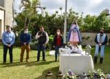 Autoridades municipales recibieron la imagen histórica de la Virgen del Pilar